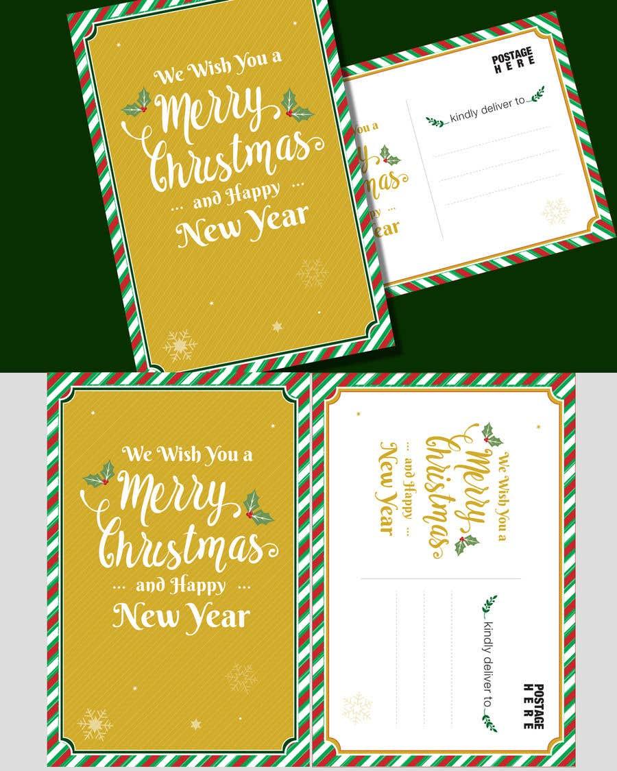 Konkurrenceindlæg #12 for Christmas Postcard Design (front/back)