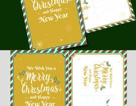 #12 for Christmas Postcard Design (front/back) af jaynalgfx