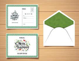 #7 for Christmas Postcard Design (front/back) af saifsg420