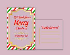 #18 for Christmas Postcard Design (front/back) af Uttamkumar01