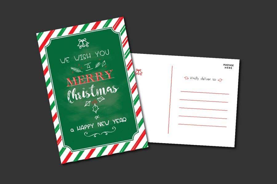 Konkurrenceindlæg #13 for Christmas Postcard Design (front/back)