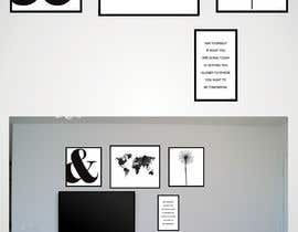 #38 for Design a photo frame wall by ValexDesign