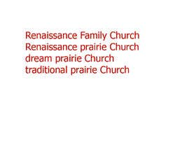 #25 für Need name for prairie churches' project / website von educationjackat