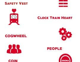 Nro 3 kilpailuun Five symbols/pictogram käyttäjältä sertankk