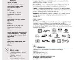 #108 for Design my Resume / CV by JGParamo