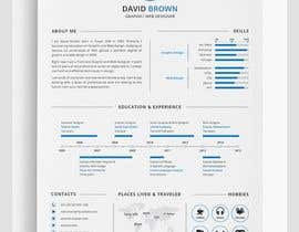 #103 for Design my Resume / CV by Shahed34800
