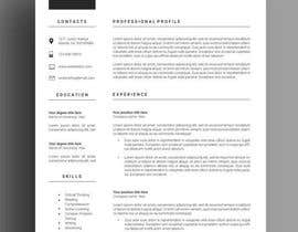 #104 for Design my Resume / CV by Shahed34800