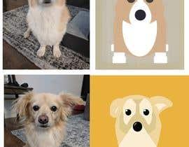 nº 14 pour Draw a clipart picture of our dog par Din21