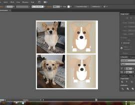 nº 12 pour Draw a clipart picture of our dog par msmoshiur9