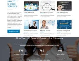 #12 for Simple professional Accounting website design by mostafabd90