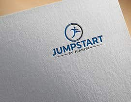 "#29 for A logo for ""Jumpstart by juanita"" its a fitness business, which needs to show vitality, i would like the "" by juanita "" in small letters so accent mainly on the jumpstart by nhasannh5"