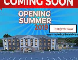 #6 for sign/banner for new hotel coming soon by youshohag799
