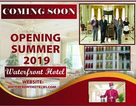#8 for sign/banner for new hotel coming soon by NazMalik004
