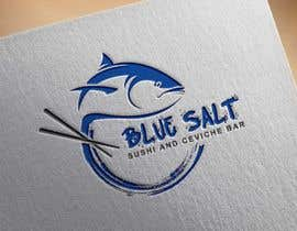 #1042 for Design a Logo for Blue Salt sushi and ceviche bar by rachidDesigner