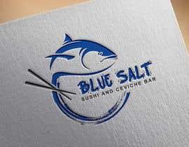 Nro 1042 kilpailuun Design a Logo for Blue Salt sushi and ceviche bar käyttäjältä rachidDesigner