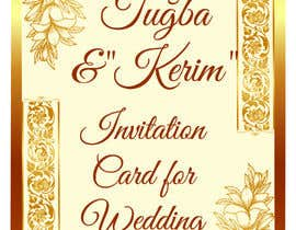#14 for Invitation Card for Wedding by NazMalik004