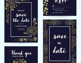 #26 for Invitation Card for Wedding by somasaha979