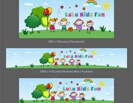 nº 15 pour YouTube Banner and Facebook Cover par SmartBlackRose