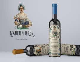 nº 19 pour Label for red wine liquor par raquelroy