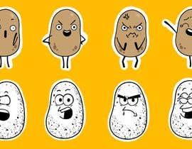 nº 15 pour Draw 4 funny facial expressions - $100 for first job par berragzakariae