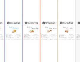 #17 para Diseño de ETIQUETAS / Label design de valerialeonlindo
