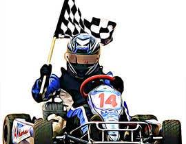 #17 for Cartoon Kart Vector Illustration af leonardoluna1
