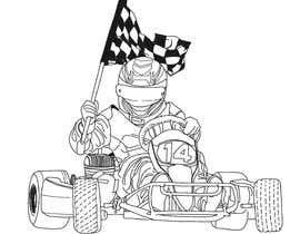 #20 for Cartoon Kart Vector Illustration af berragzakariae
