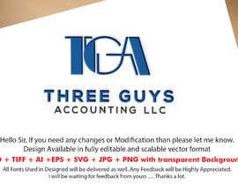 #102 para Creating a Business Logo: Three Guys Accounting, LLC. de Mostafiz600