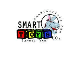 #12 สำหรับ I need a logo designed. Company name is Smart Ass Toys. Need a donkey in it.  Something cool and funny.  Ill use it to print on shirts as well as webiste. โดย danettelinde