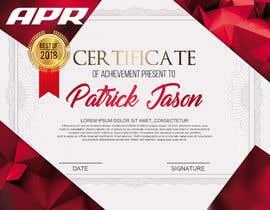 Nro 8 kilpailuun Certificate design - authenticity käyttäjältä NazMalik004