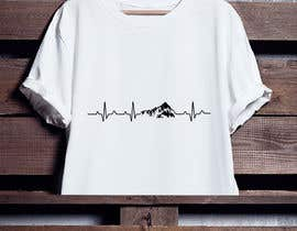 #18 untuk T-shirt design with heartbeat theme oleh pgaak2