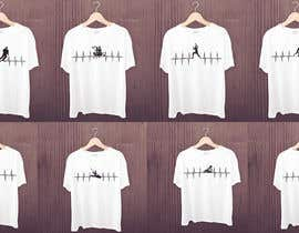 #23 for T-shirt design with heartbeat theme by robiulhossi