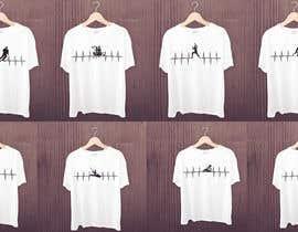 #23 untuk T-shirt design with heartbeat theme oleh robiulhossi