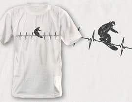 #37 untuk T-shirt design with heartbeat theme oleh robiulhossi