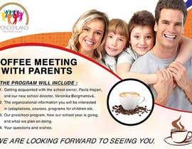 #15 для Create a coffee invitation for preschool parents от maidang34