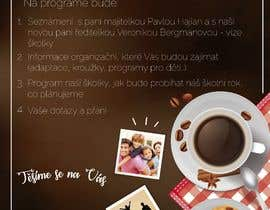 #22 для Create a coffee invitation for preschool parents от mbauzamartinez