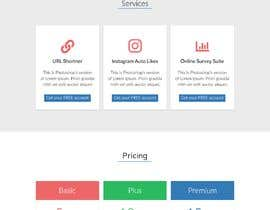 #8 for One Page Services Launch Website by Divyansch