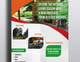 #17 for Design Advertisement For Landscaping Business by hmasad88
