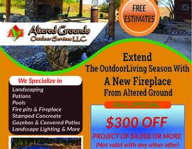 #14 for Design Advertisement For Landscaping Business by nittanandaroy