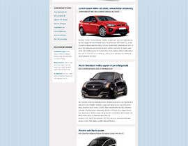 #19 for Email template design for online auto parts store. af arifmehrab