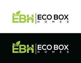 Nro 727 kilpailuun Logo for Eco Box Homes käyttäjältä ssdesignz19