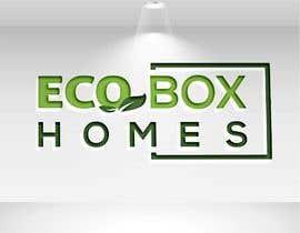 Nro 736 kilpailuun Logo for Eco Box Homes käyttäjältä sojib8184