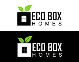 Nro 631 kilpailuun Logo for Eco Box Homes käyttäjältä bucekcentro