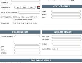 Nro 38 kilpailuun Make a pdf form fillable käyttäjältä c0d3rPK