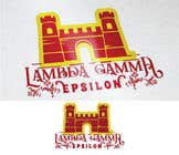 Graphic Design Kilpailutyö #6 kilpailuun we are a small organization that has been using the same logo (kings for years) we are looking for a new one to use for our social media and other things themes we typically stick w is a 4 pointed crown, knights and castles our letters are Lambda Gamma Ep