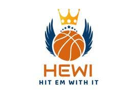 #7 for Would like logo to incorporate something with basketball in it. The name I would like to have with it is Hit Em Wit It and HEWI. I have attached an older logo with the name that I would like to have with the logo. by tafoortariq