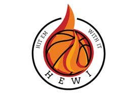 #14 untuk Would like logo to incorporate something with basketball in it. The name I would like to have with it is Hit Em Wit It and HEWI. I have attached an older logo with the name that I would like to have with the logo. oleh tafoortariq