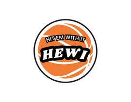 #18 untuk Would like logo to incorporate something with basketball in it. The name I would like to have with it is Hit Em Wit It and HEWI. I have attached an older logo with the name that I would like to have with the logo. oleh tafoortariq