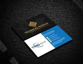 nº 348 pour Design an authentic and very luxury business card for a company par jubayerkhanab