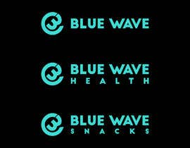 #56 for Blue Wave, Blue Wave Health, Blue Wave Snacks by ashraful1773